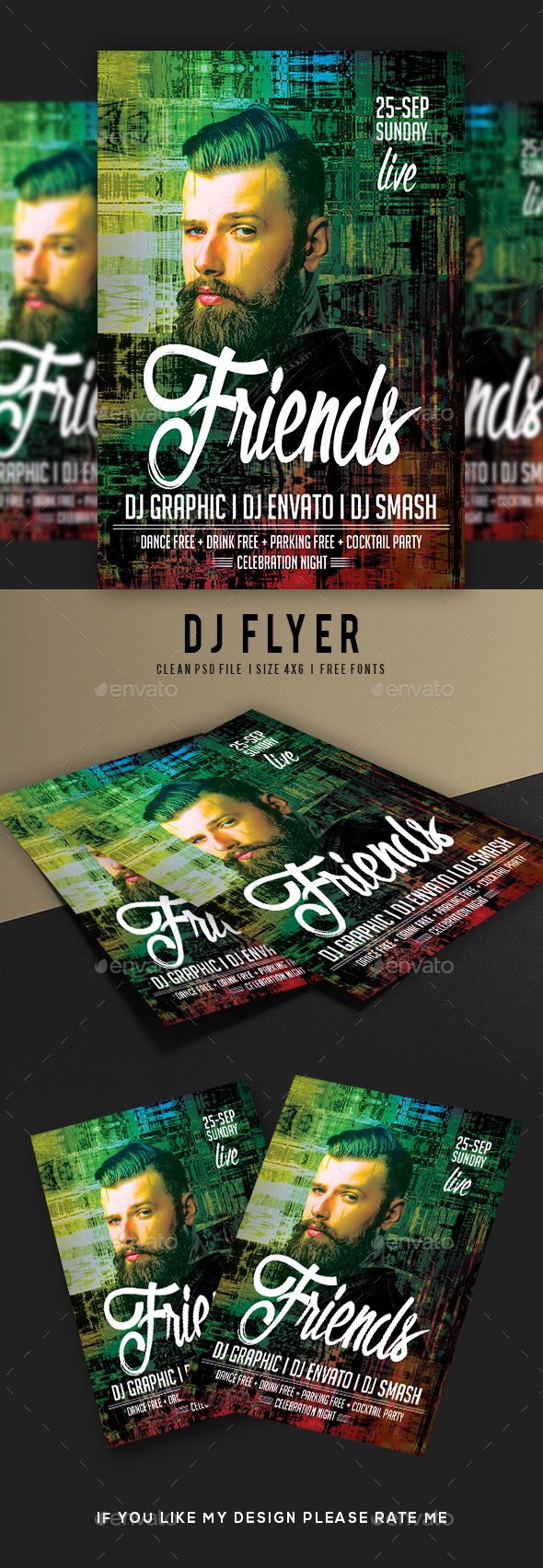 GraphicRiver DJ Flyer 21077249