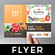 Farmers Market Flyer Template Vol.2
