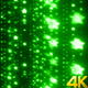 Green Stars Glittering Motion Background - VideoHive Item for Sale