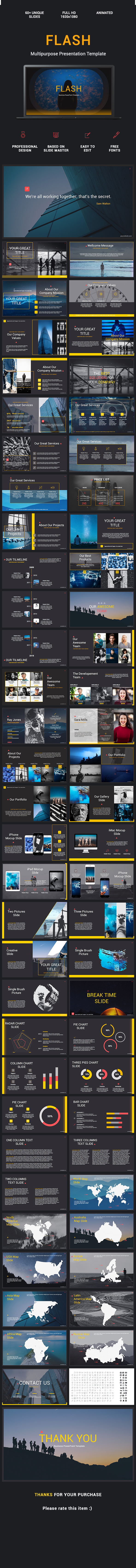 flash - business ppt templateopen-mind_design | graphicriver, Powerpoint templates