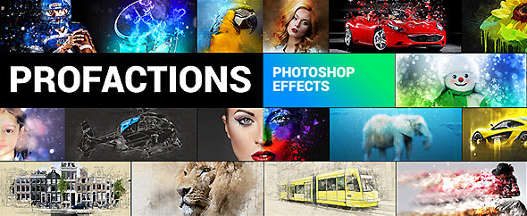 Profactions graphicriver poster