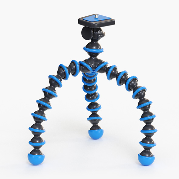 3DOcean Flexible Camera Tripod 21077645
