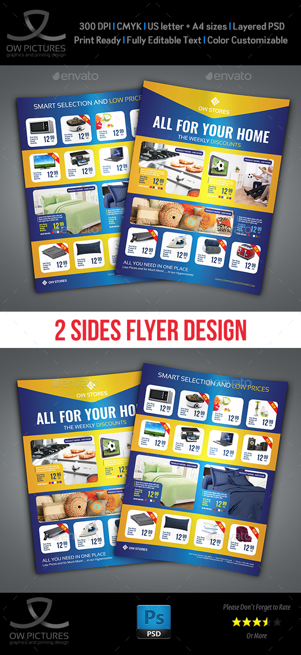 GraphicRiver Products Catalog Flyer Template 21077698