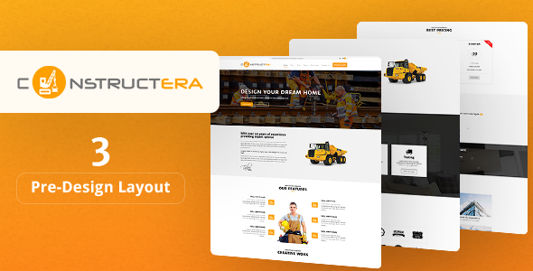 Constructera - Construction & Business WordPress Theme - Business Corporate