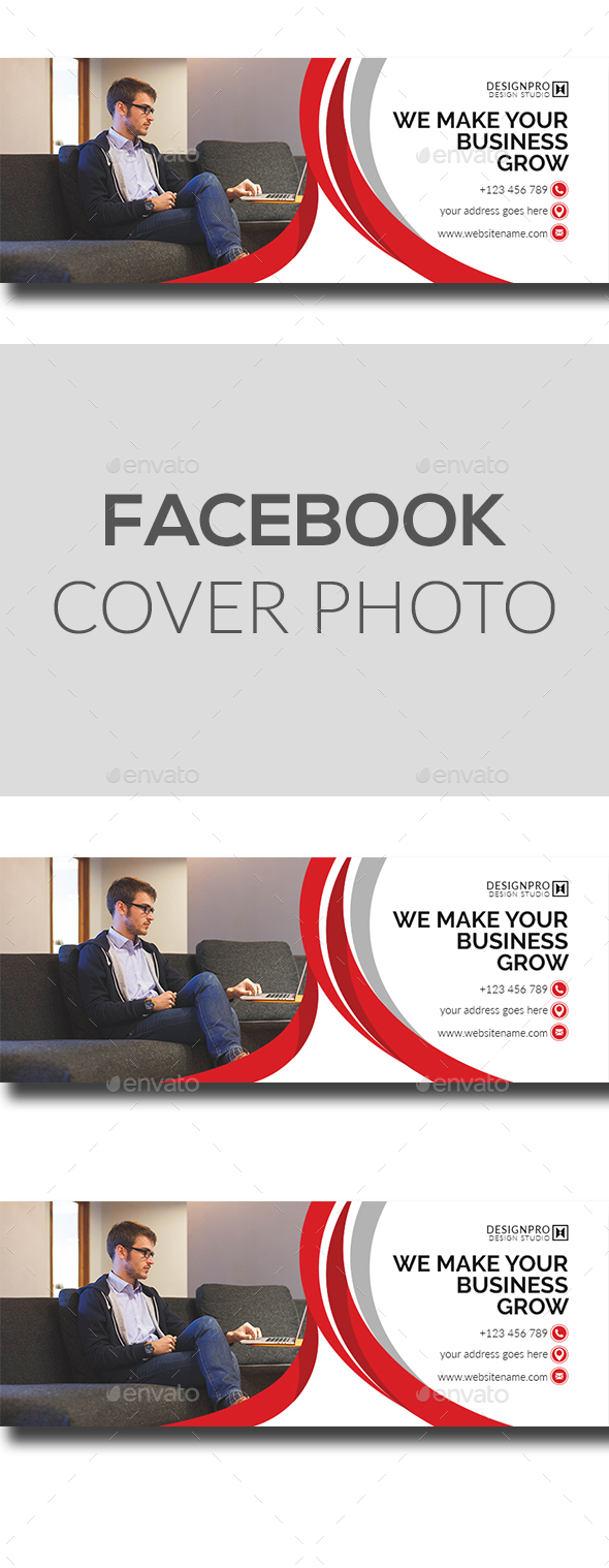 GraphicRiver Facebook Cover Design 21077821