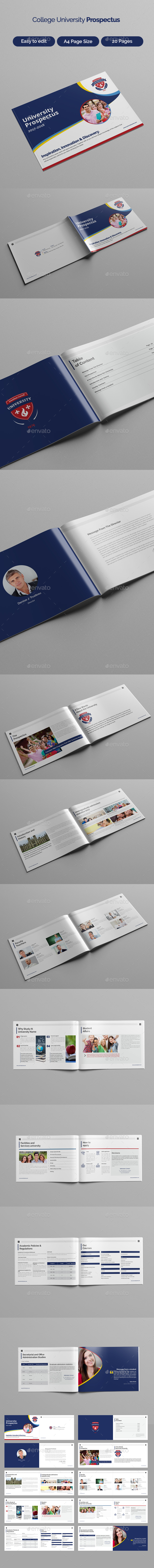 GraphicRiver College University Prospectus 21077912