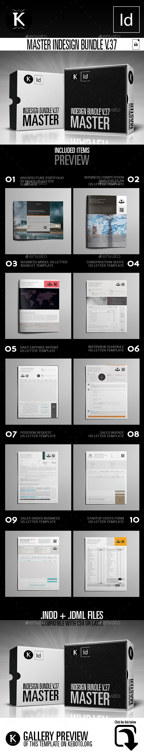 GraphicRiver Master inDesign Bundle v.37 21078015