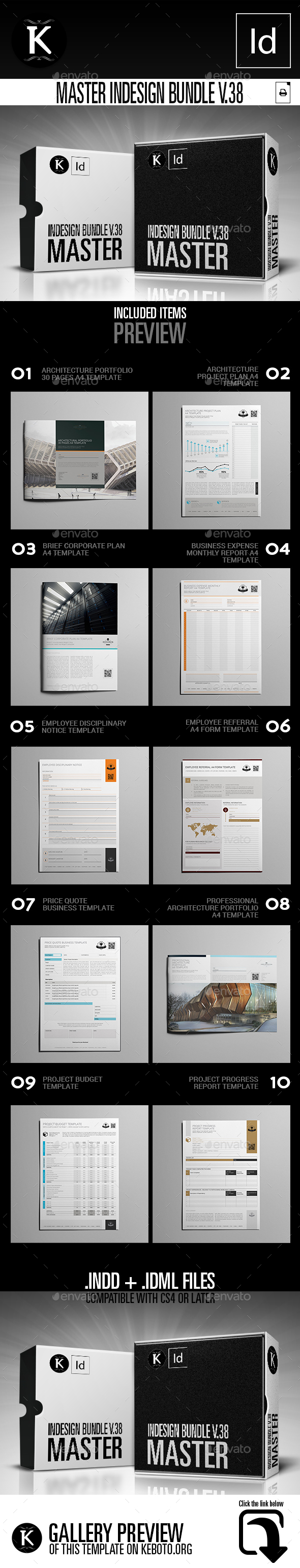 GraphicRiver Master inDesign Bundle v.38 21078204