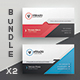 Business Card Bundle 41 - GraphicRiver Item for Sale