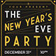 New Years Eve Party Flyer Template - GraphicRiver Item for Sale