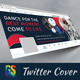 Dance Twitter Profile Cover - GraphicRiver Item for Sale