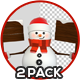 3D Snowman With Billboard - GraphicRiver Item for Sale