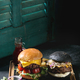 Hamburger with french fries - PhotoDune Item for Sale
