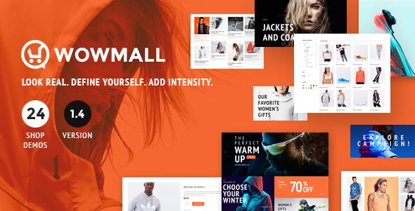WOWmall: Fastest Responsive WooCommerce WordPress Theme - WooCommerce eCommerce