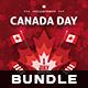 Canada Day Flyer Bundle