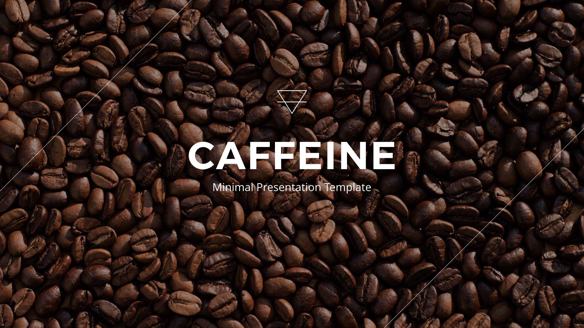 caffeine google slide presentation templatezacwhyyy | graphicriver, Coffee Presentation Template, Presentation templates