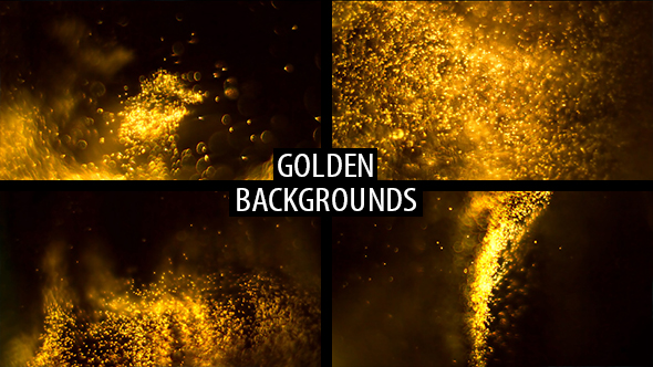 VideoHive Golden Backgrounds 21078850