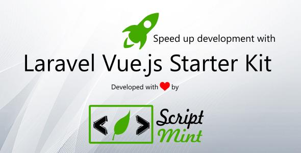 Laravel Vue.js SPA Bootstrap Admin Starter Kit - CodeCanyon Item for Sale
