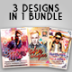 DJ Party Flyers Bundle