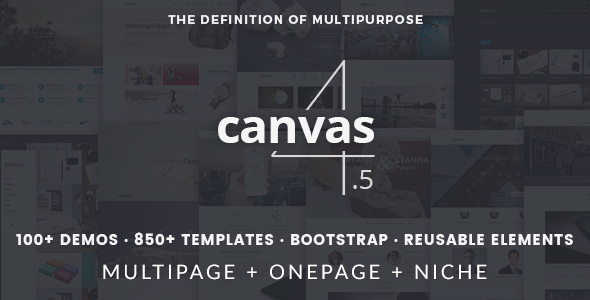 Canvas | The Multi-Purpose HTML5 Template - Corporate Site Templates