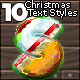 Christmas Text Styles - GraphicRiver Item for Sale