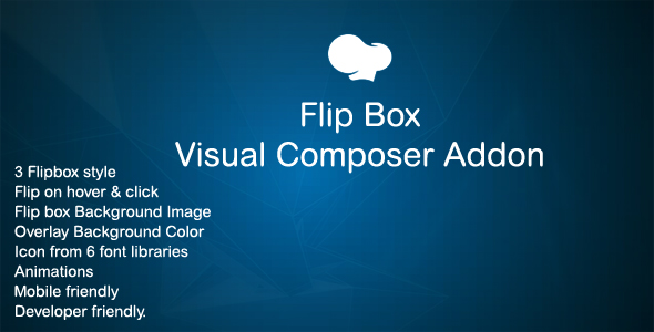 Flip Box addon for WPBakery Page Builder (Visual Composer) - CodeCanyon Item for Sale