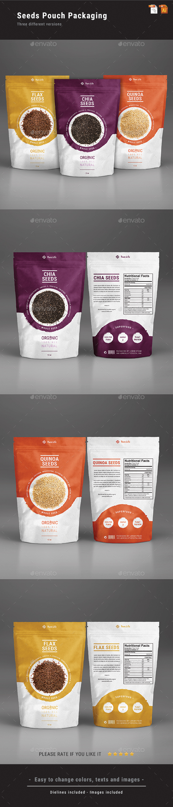 GraphicRiver Seeds Pouch Packaging 21079067