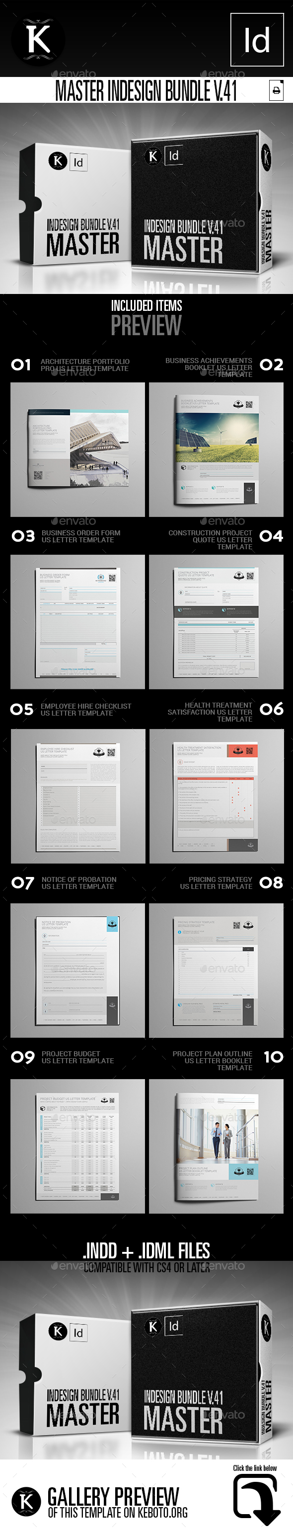 GraphicRiver Master inDesign Bundle v.41 21079112