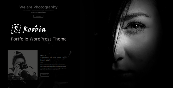 Roobia - Portfolio WordPress Theme - Portfolio Creative