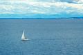 Sailing boat at sea - PhotoDune Item for Sale
