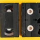Used video casette tape, retro technology - PhotoDune Item for Sale