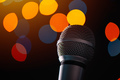 Audio microphone in karaoke bar - PhotoDune Item for Sale