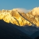 of Golden Everest, Himalayas, Landscape Between Way To Everest Base Camp,Nepal.Snow Capped Mountain - VideoHive Item for Sale