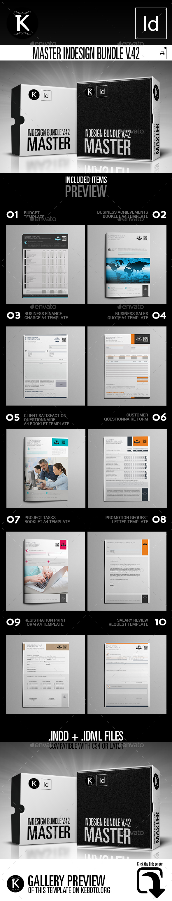 GraphicRiver Master inDesign Bundle v.42 21079561