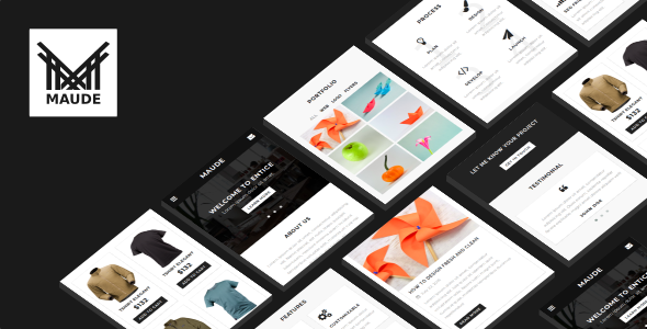 ThemeForest Maude Mobile Template 21080066