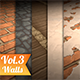 Walls Vol.3 - Hand Painted Texture Pack - 3DOcean Item for Sale