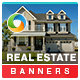 Real Estate Banner Set