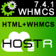 Hostr - Awesome WHMCS & HTML Clean Hosting Responsive Template