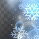 Abstract Snowflakes Light Frame - VideoHive Item for Sale