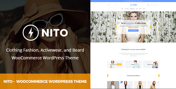 Image of Nito - Responsive Multipurpose WooCommerce Theme