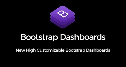 Bootstrap Admin Dashboard Templates