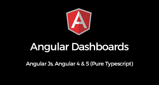 Angular Admin Dashboard Templates