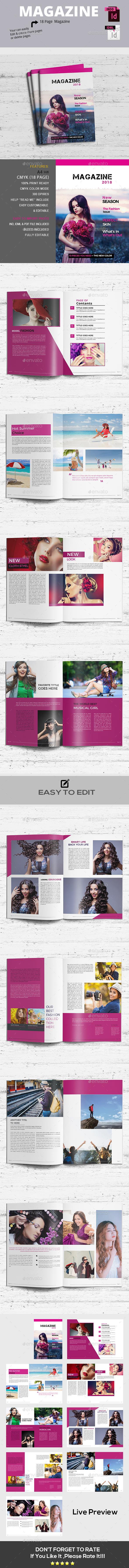 The Magazine - Magazines Print Templates