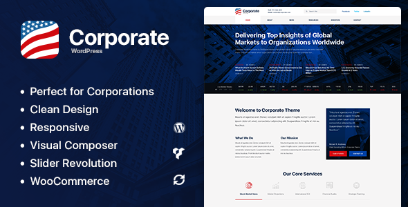 Axxum - Business & Company WordPress Theme - Business Corporate