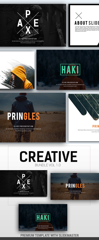 GraphicRiver 3 in 1 Creative Bundle 21081597