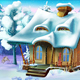 Small House in a Winter Day - VideoHive Item for Sale