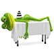 3D Illustration Frog on SPA Procedure - GraphicRiver Item for Sale