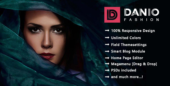 Image of Danio - Minimalist Fashion Responsive Prestashop 1.7 Theme