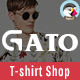 Gato - Tshirt Shop Responsive Prestashop 1.7 Theme - ThemeForest Item for Sale