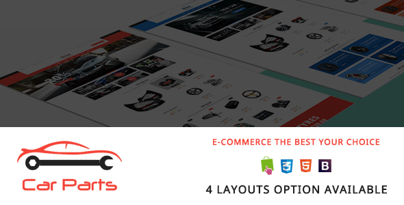Image of Carparts - Auto Mechanic Responsive Prestashop Theme